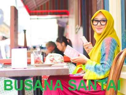 Tips Fashion Hijab Simple Untuk Bersantai
